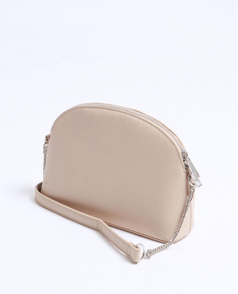 Piccola borsa in similpelle grigio