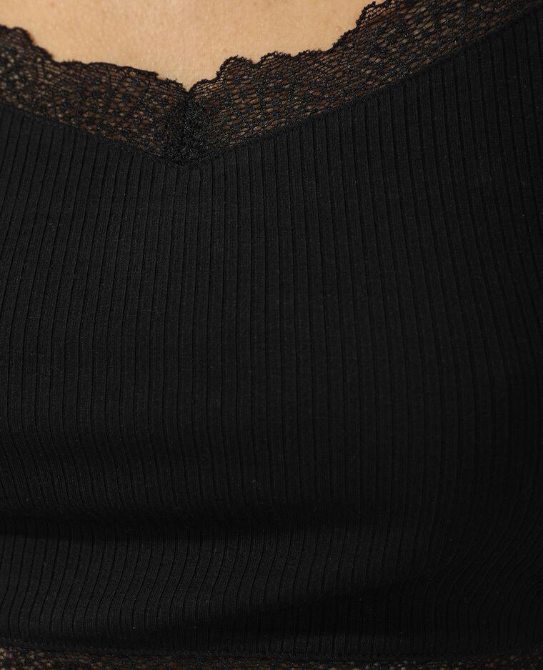 Bralette in pizzo nero - Pimkie