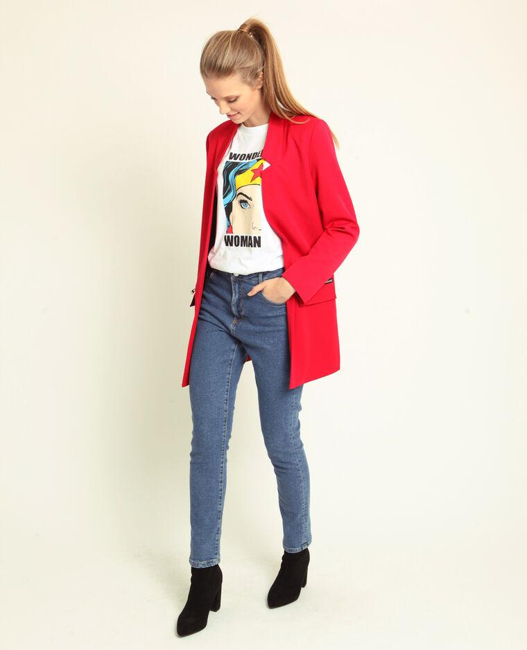Cappotto leggero rosso