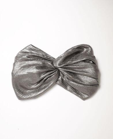 Headband Stéphanie Durant x Pimkie grigio paillettato