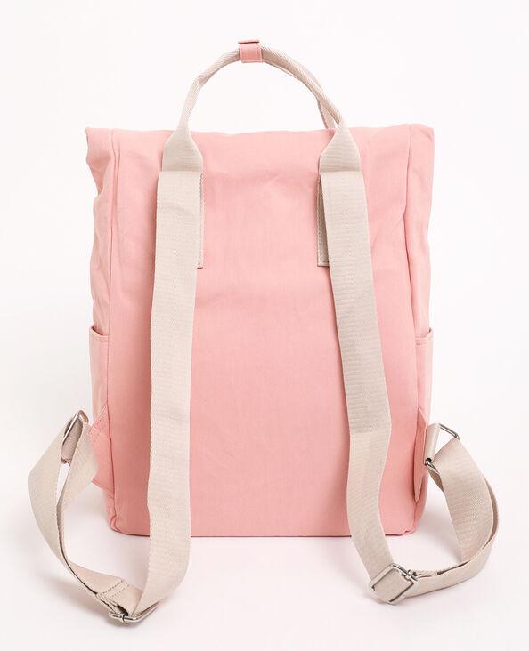 Zaino in tessuto rosa