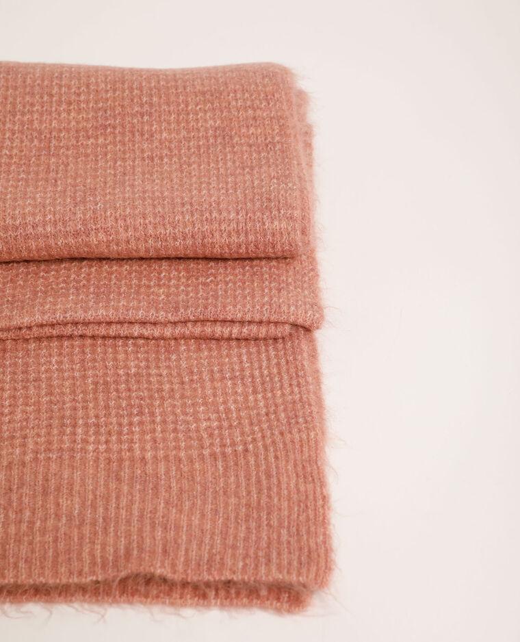 Sciarpa goffrata rosa cipria - Pimkie