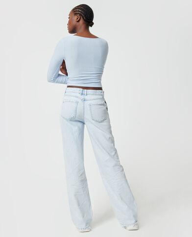 Jeans largo blu chiaro - Pimkie