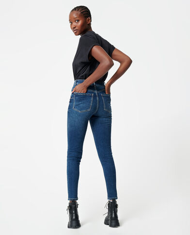 Jeans skinny push up blu denim - Pimkie