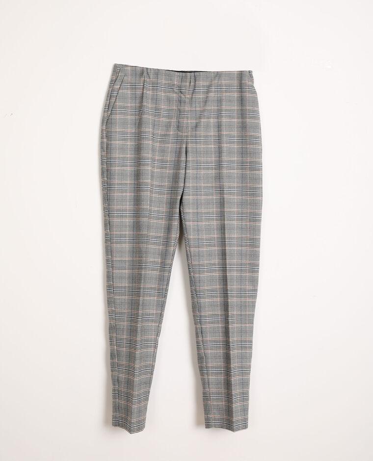 Pantalone a quadri blu - Pimkie