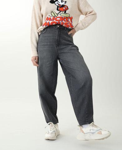 Jeans slouchy nero - Pimkie