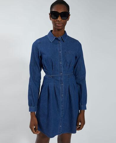 Abito camicia di jeans blu - Pimkie