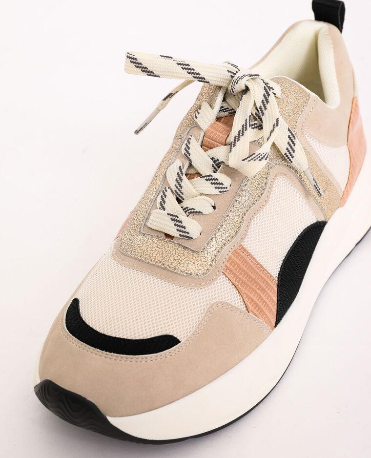 Scarpe da tennis in vari materiali bianco