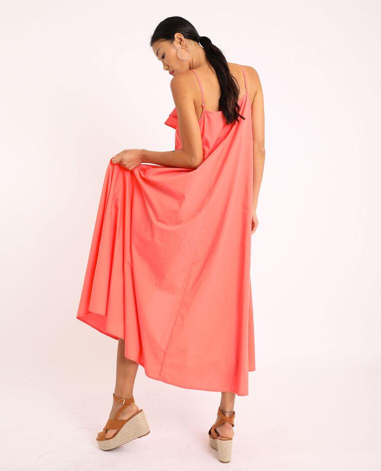 Abito lungo con spalline sottili rosa - Pimkie