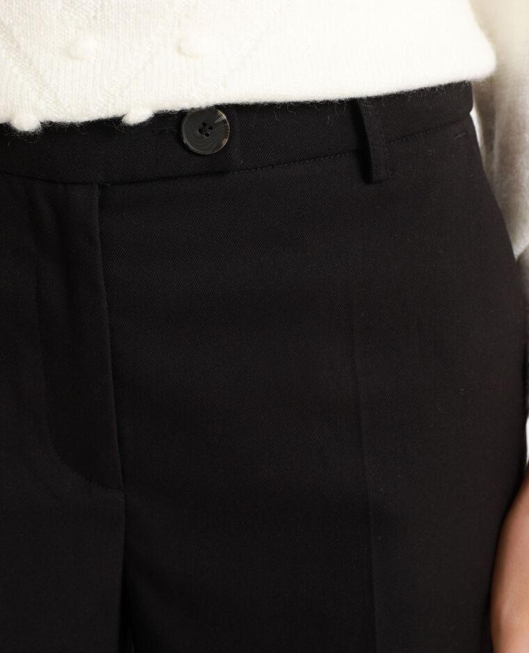 Pantalone con gambe larghe nero