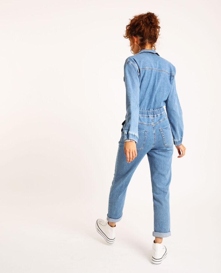 Abito pantalone in jeans blu cielo - Pimkie