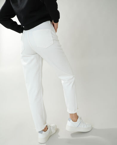 Jeans straight high waist bianco - Pimkie