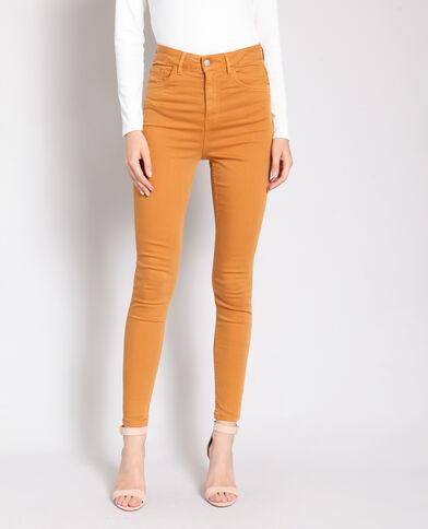 Pantalone skinny a vita alta bruno