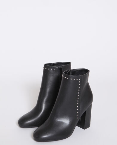 Stivali con le borchie nero