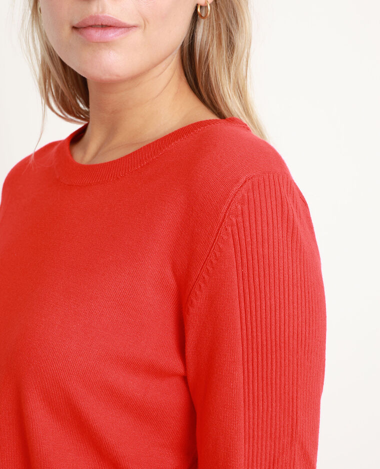 Pull basic rosso