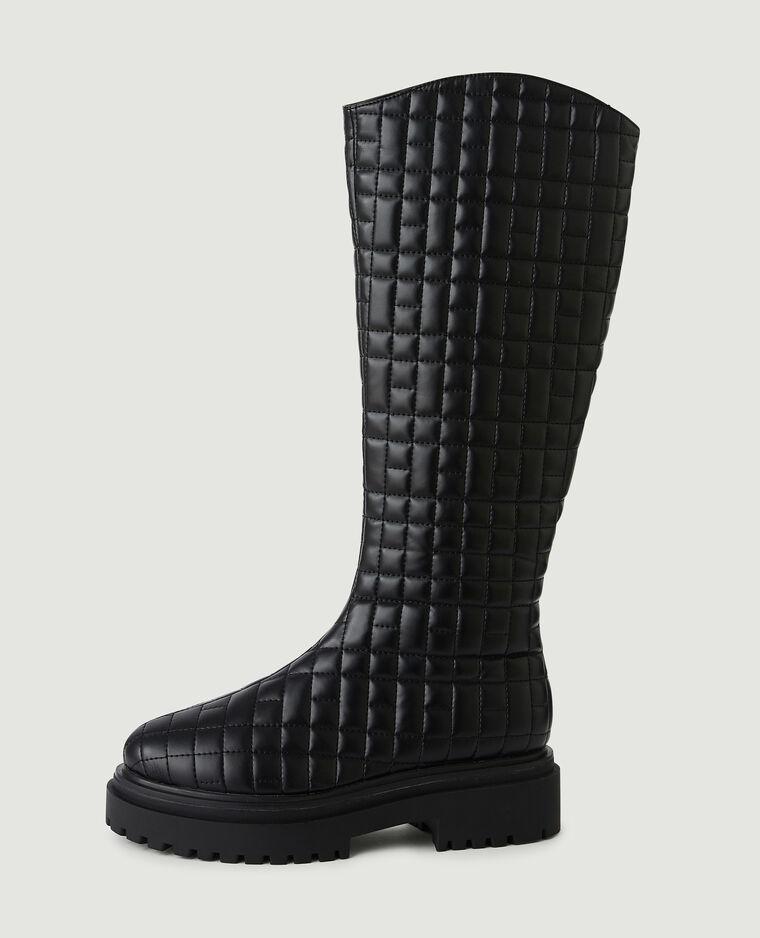 Stivali trapuntati nero - Pimkie