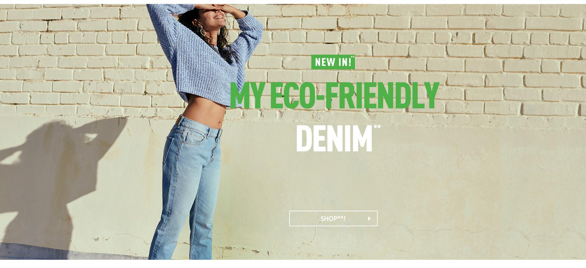 jeans in materiale riciclato