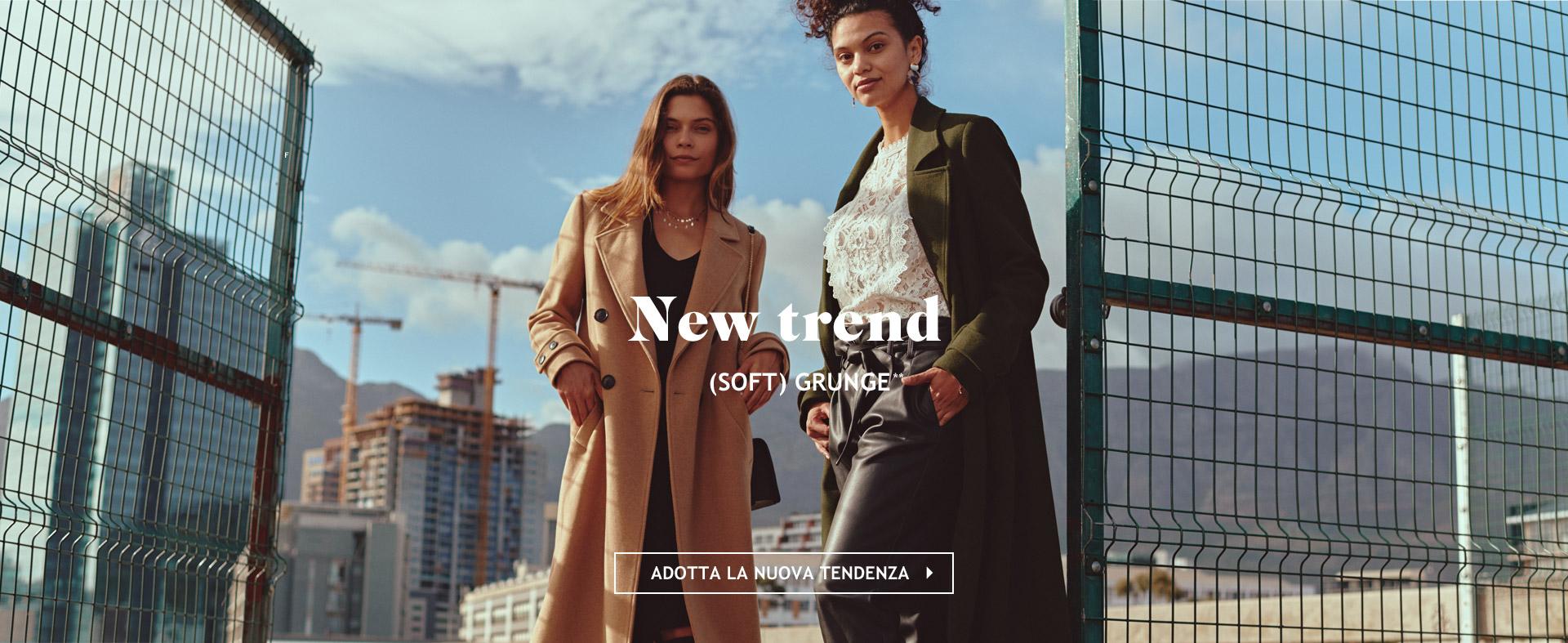 New trend (soft) grunge**