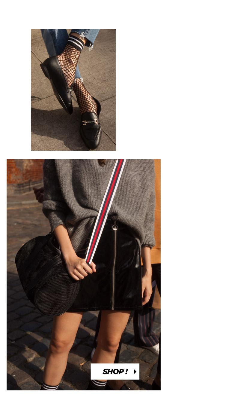 Chemise à message, Mini jupe à broderies
