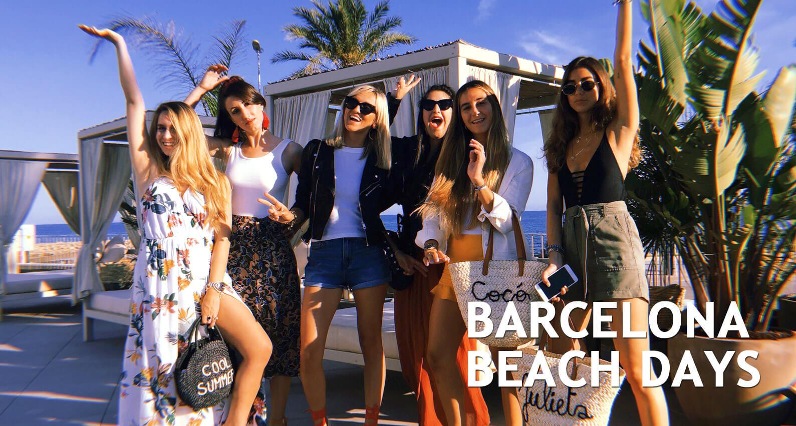 Barcelona beach days