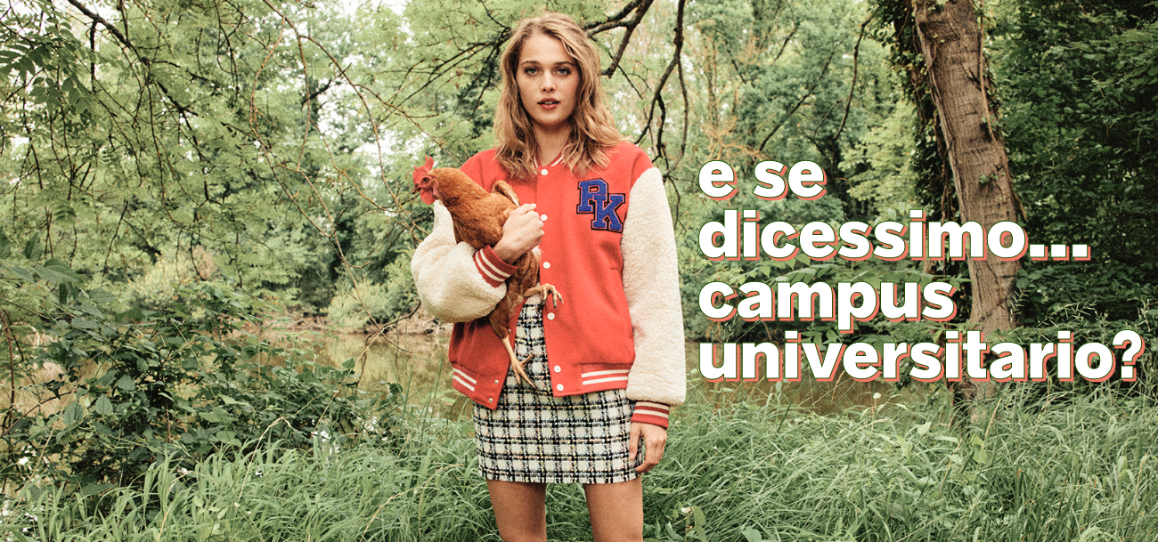 Minigonna, felpa universitaria, teddy... la moda in stile campus è tornata dalle vacanze! - Pimkie
