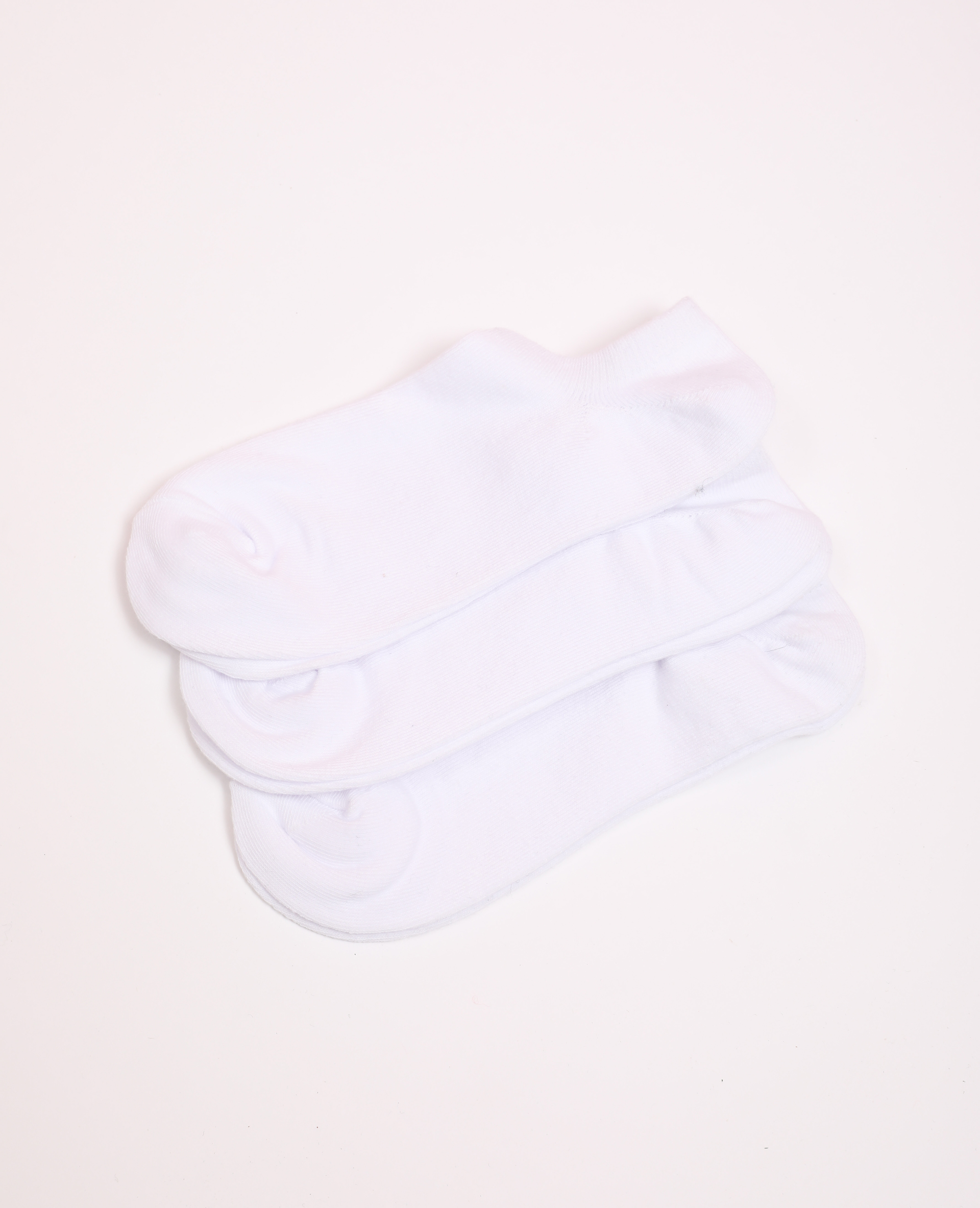 Lotto di calzini bassi bianco - Pimkie