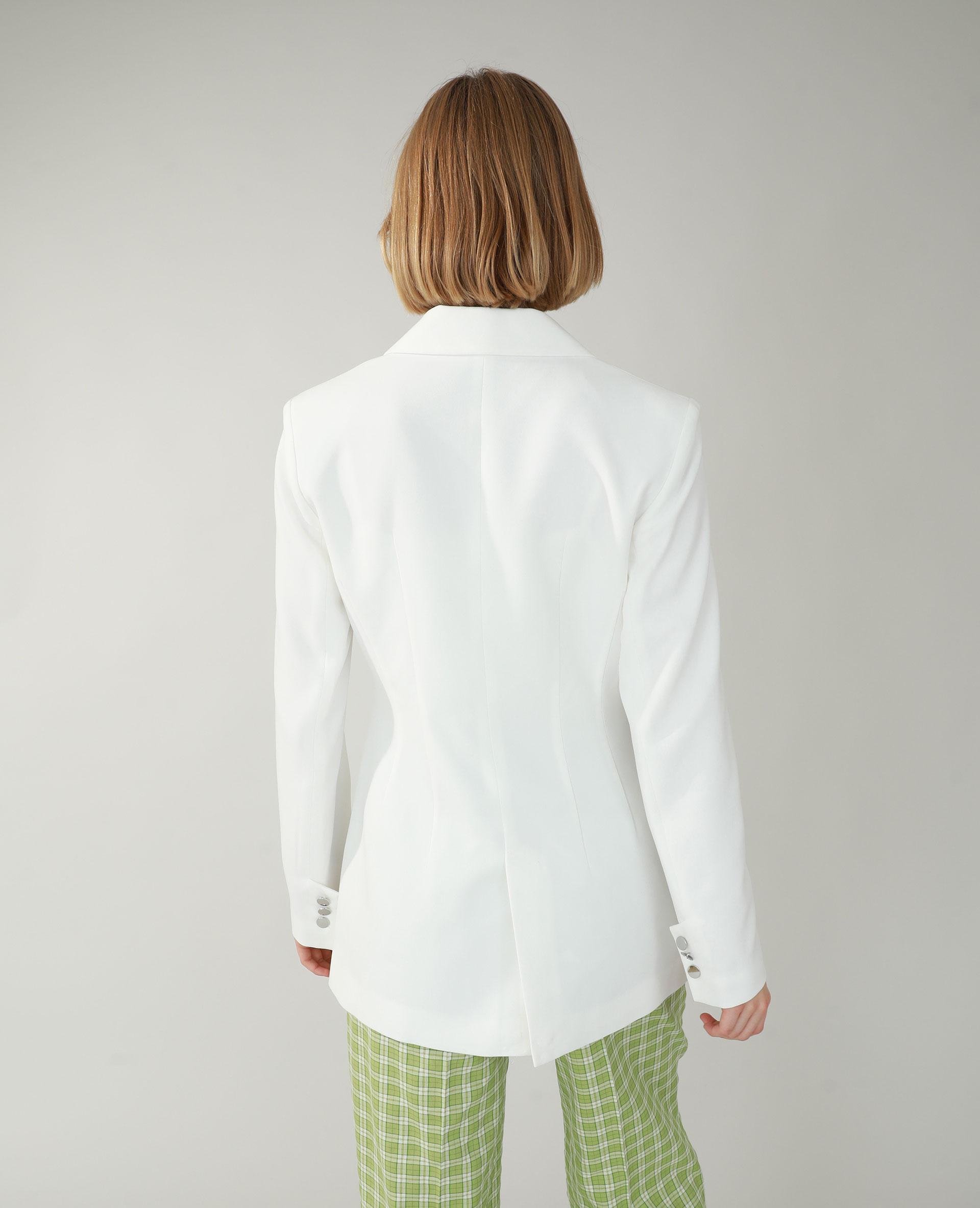 Giacca lunga bianco - Pimkie