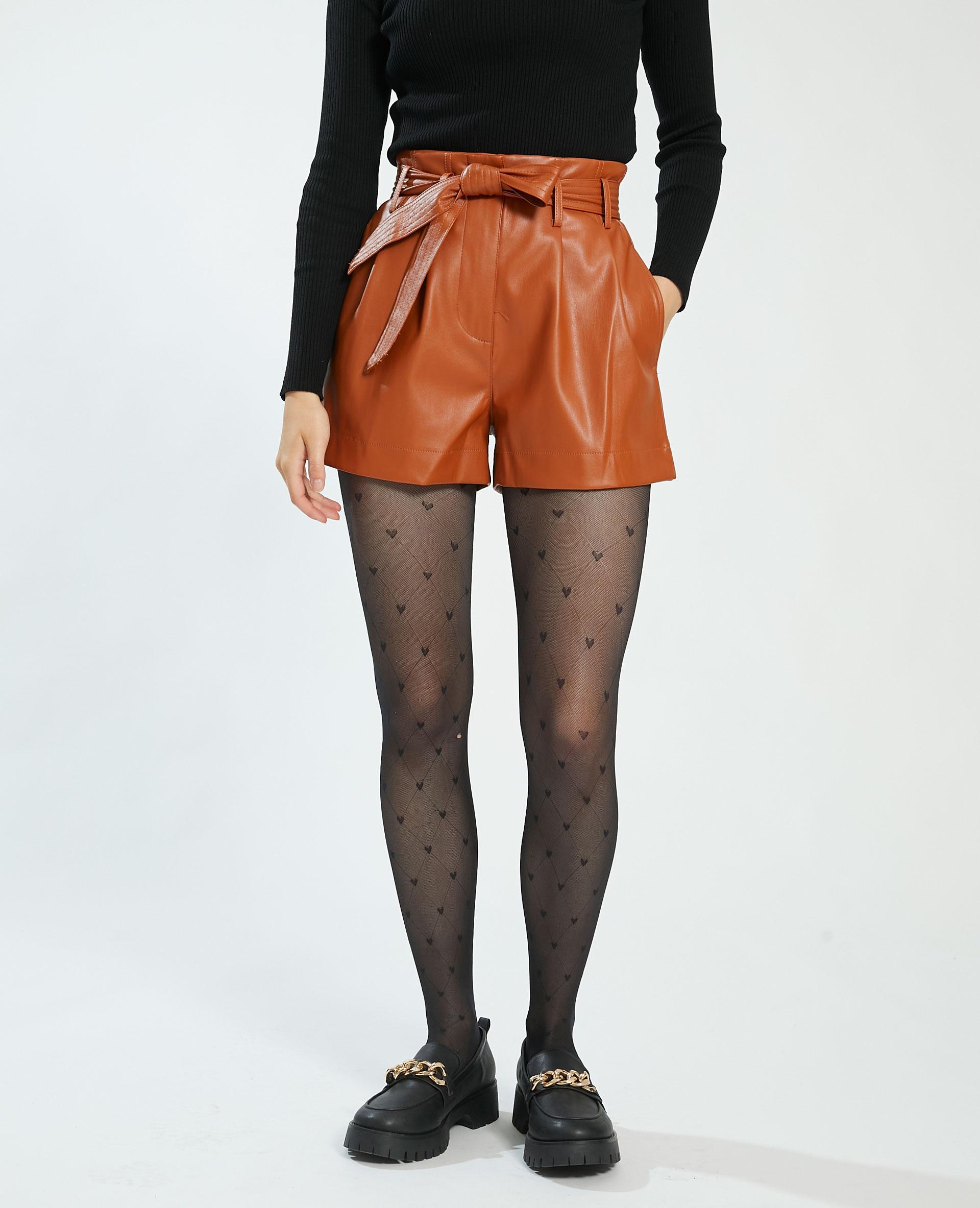 Short in similpelle marrone - Pimkie