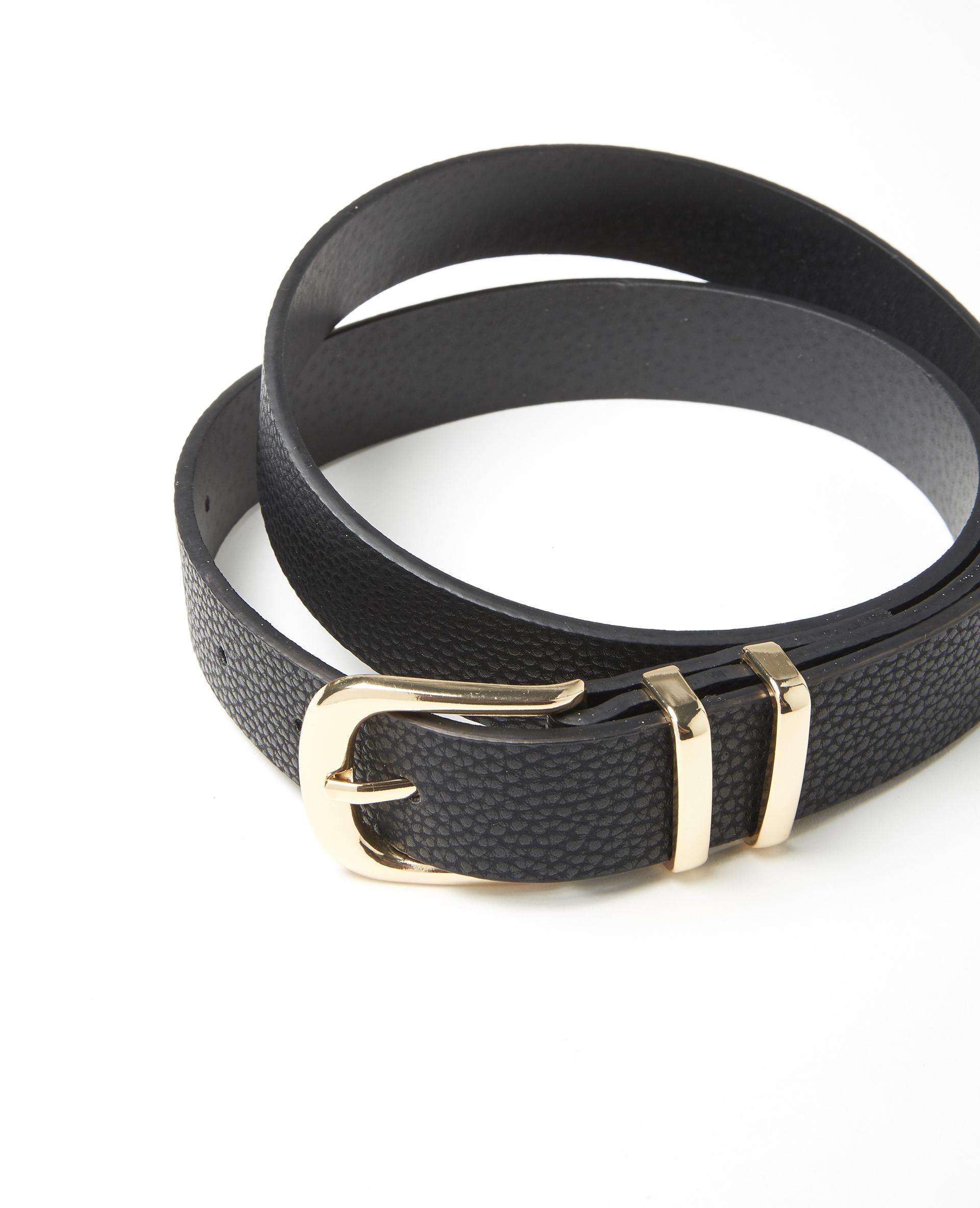 Cintura in finta pelle nero - Pimkie