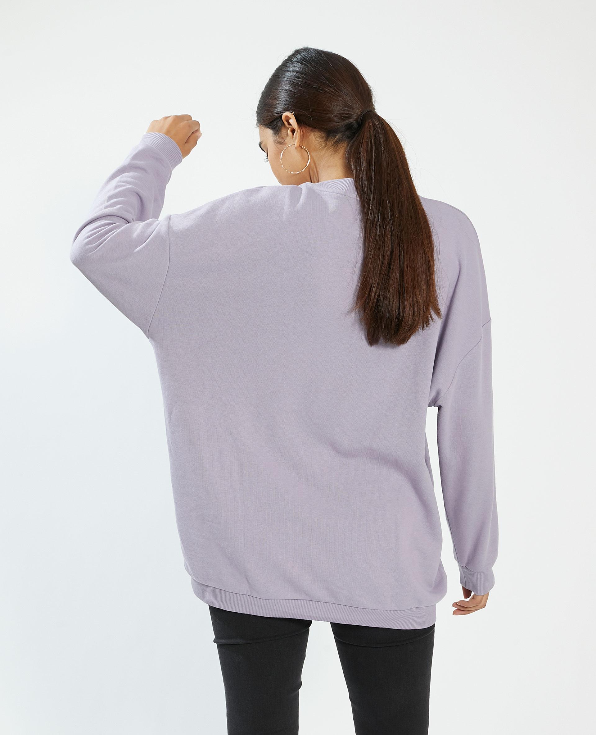 Felpa oversize viola - Pimkie