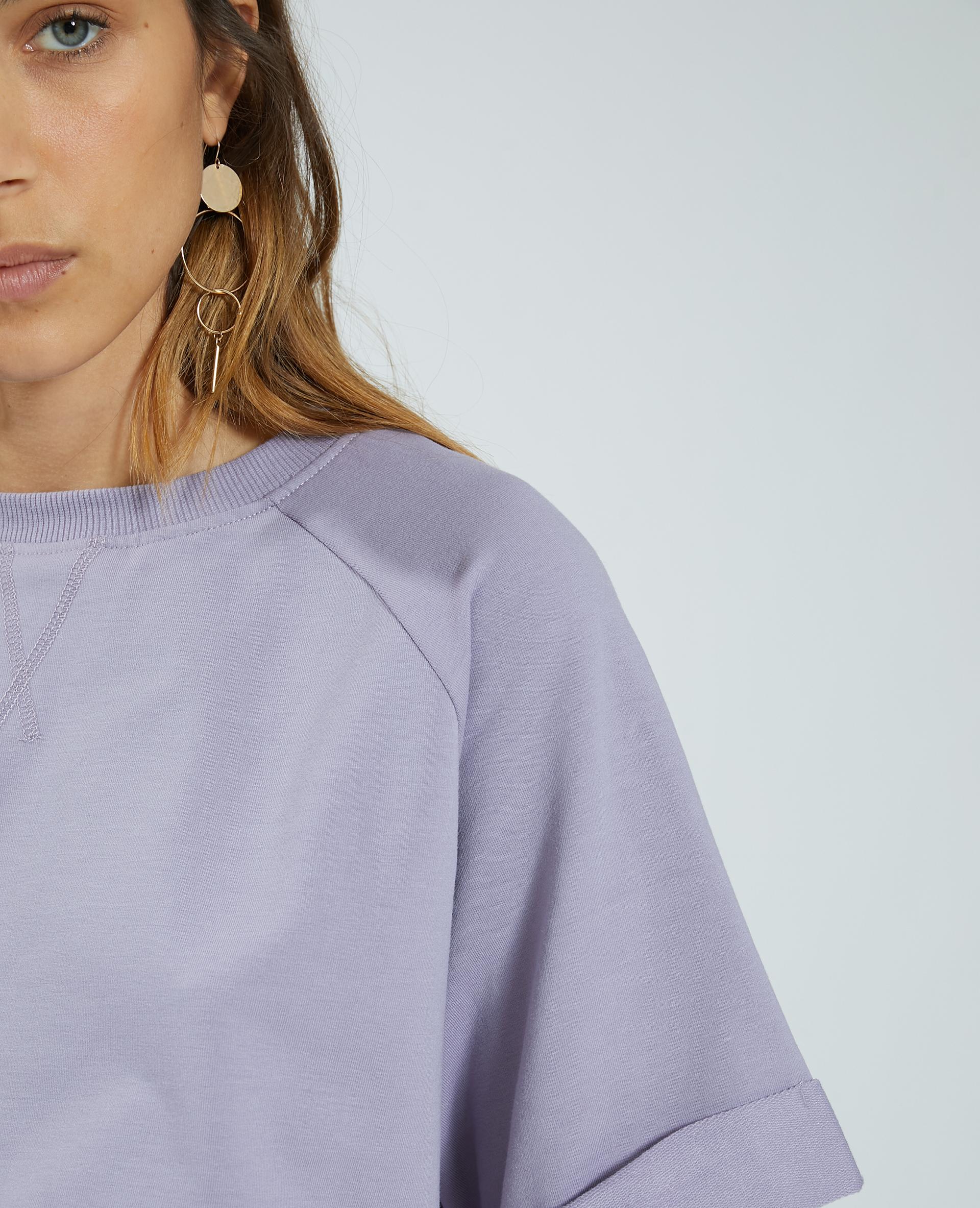 Felpa maniche corte viola - Pimkie