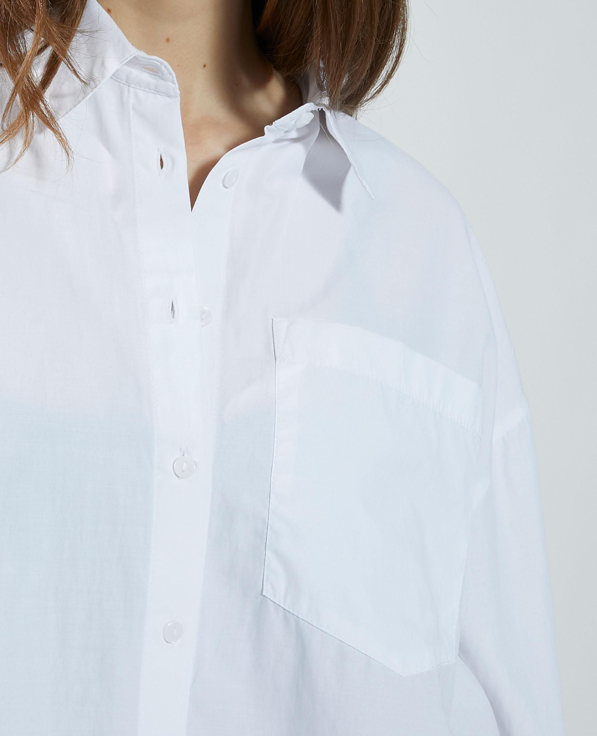 Camicia cropped bianco - Pimkie