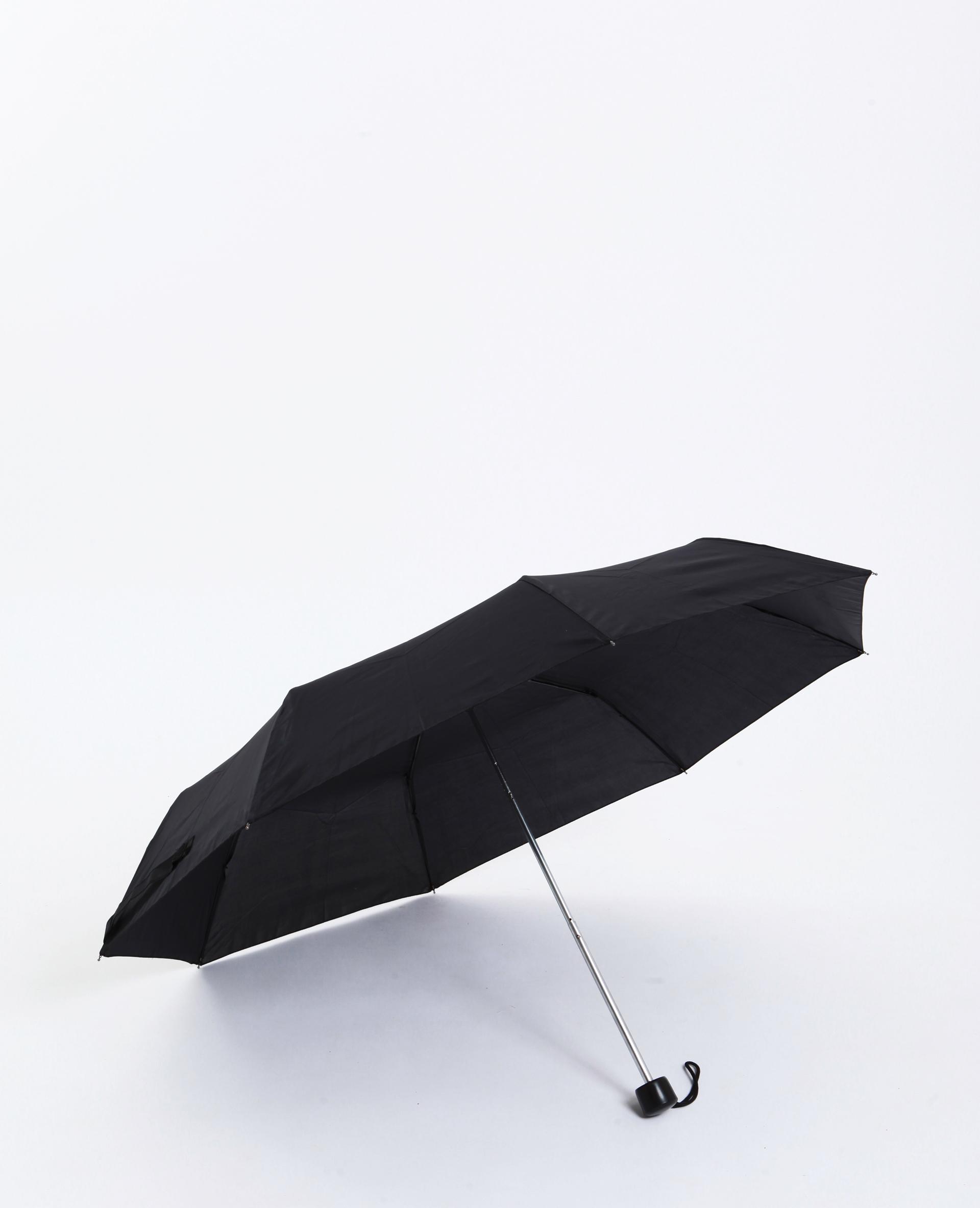 Ombrello pieghevole nero - Pimkie