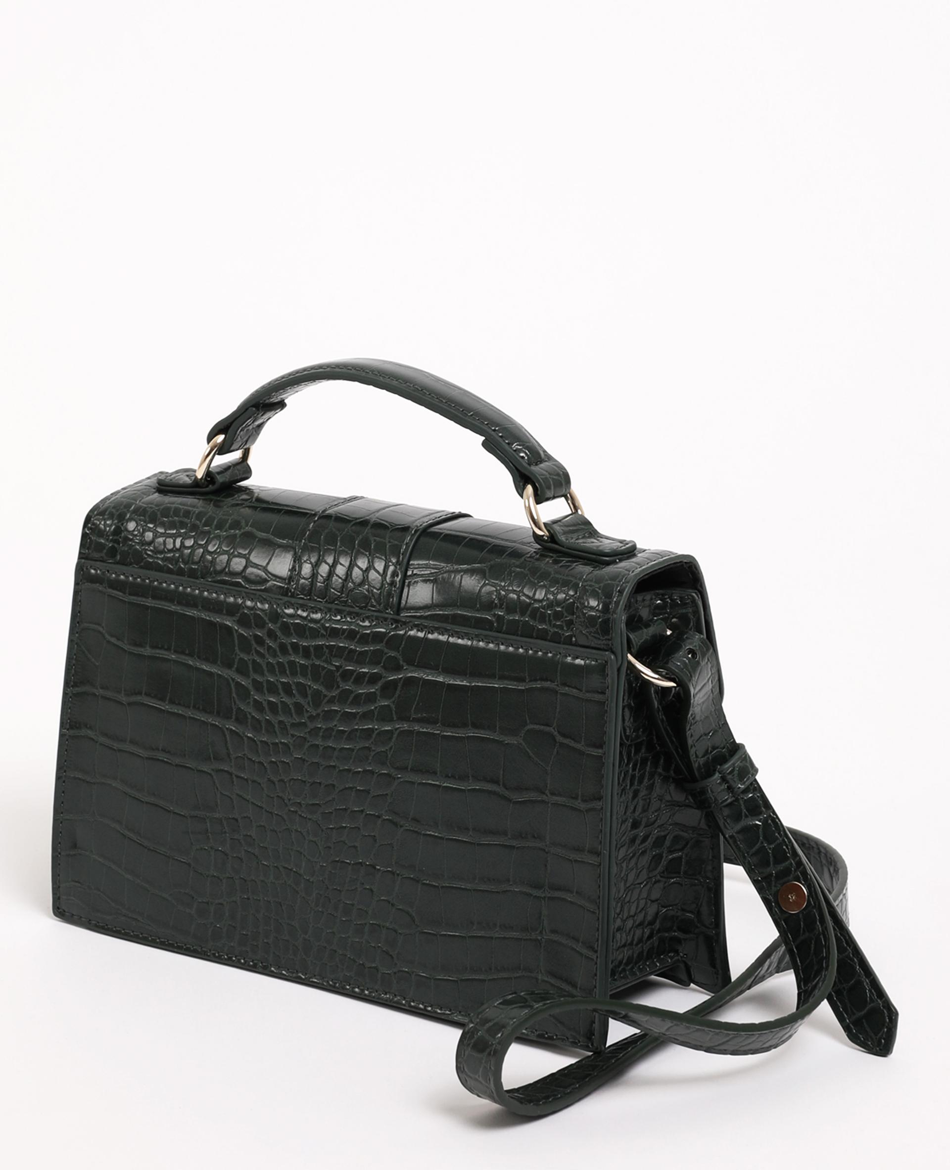 Borsa boxy valigetta verde acqua - Pimkie