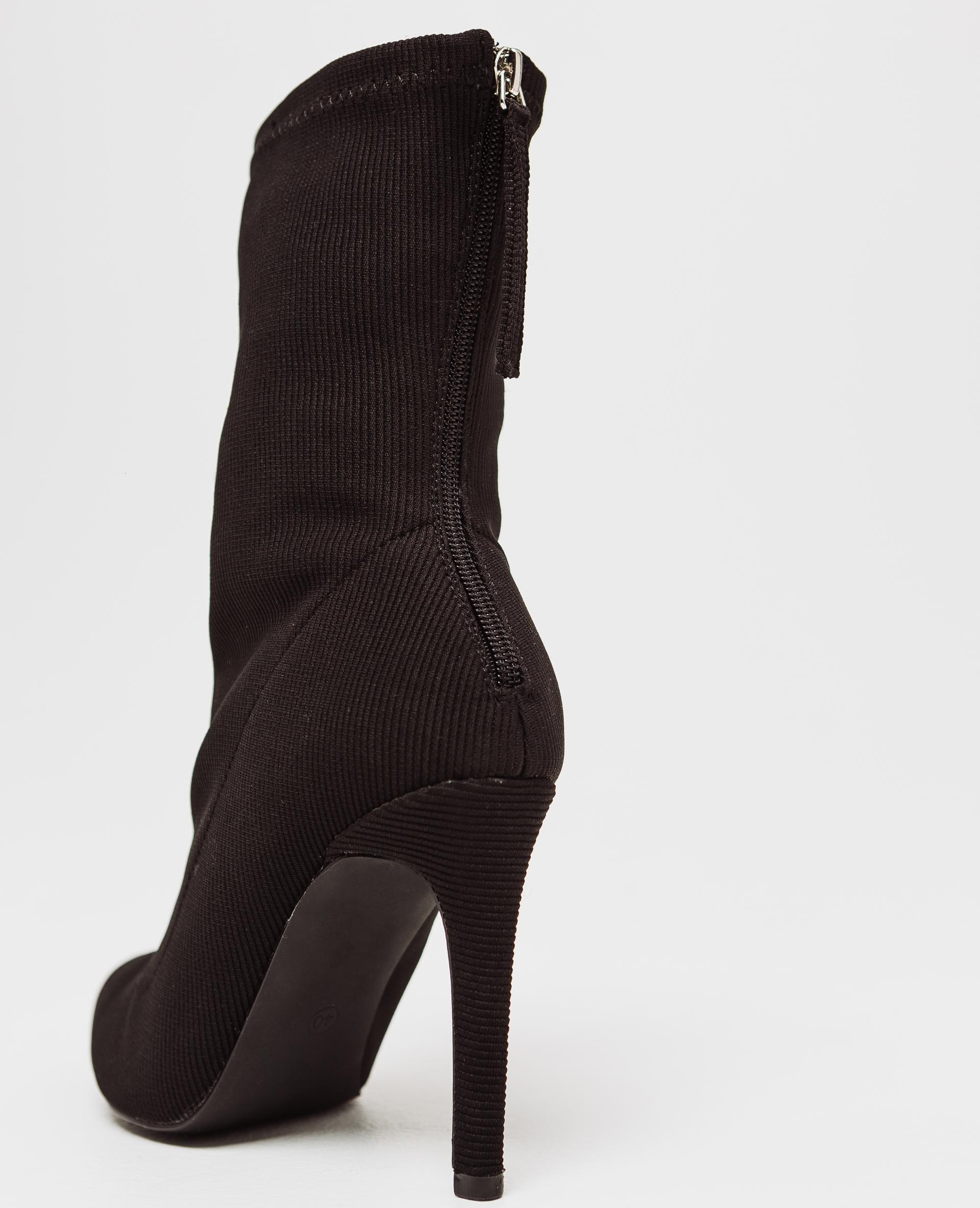 Boots con tacchi a spillo nero - 916784899A08  55096d395f3
