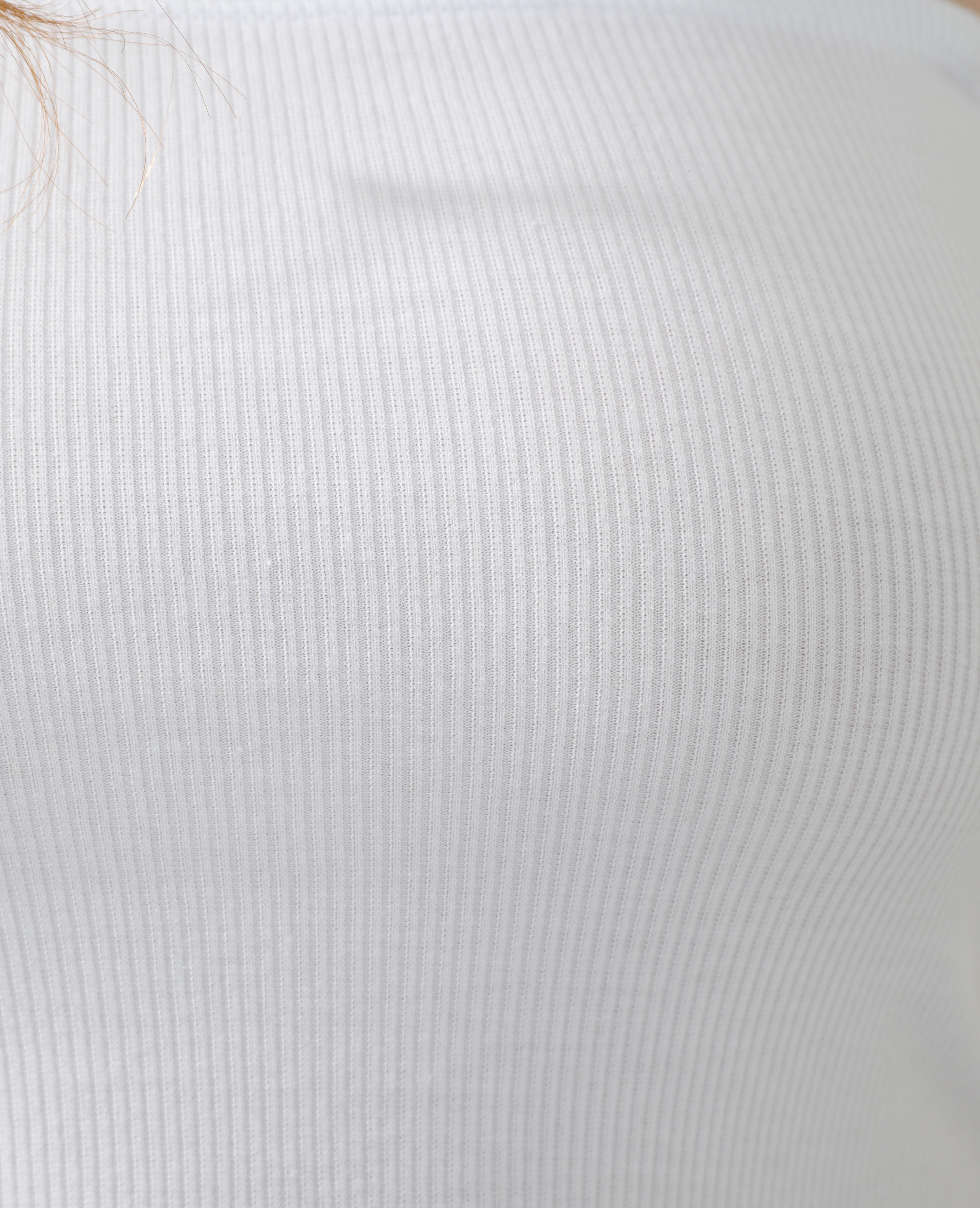 Canotta basic bianco - Pimkie