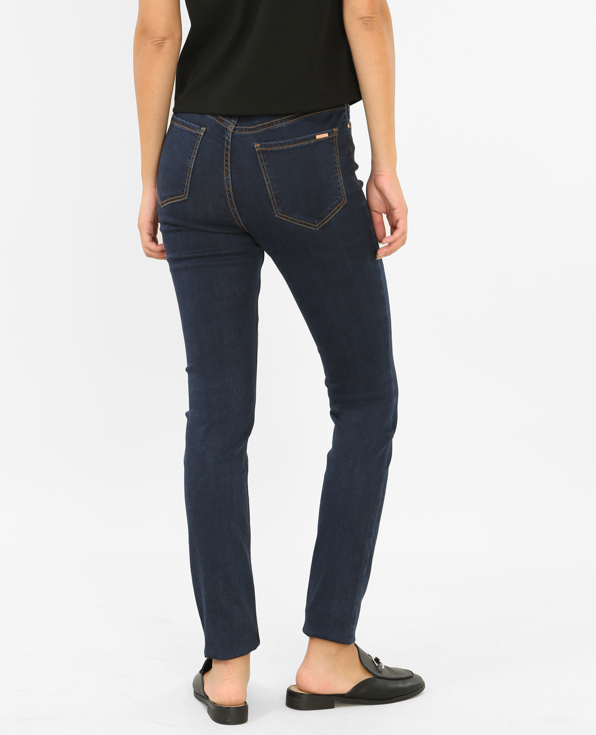 NUOVO Ragazza lemmi Jeans Skinny Fit NOS TUBO slim Blu scuro Stretto Taglia 152