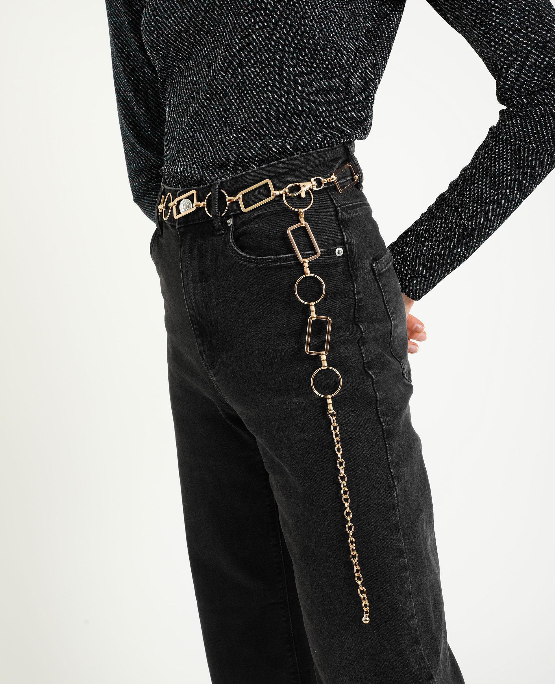 Cintura metallica dorato - Pimkie