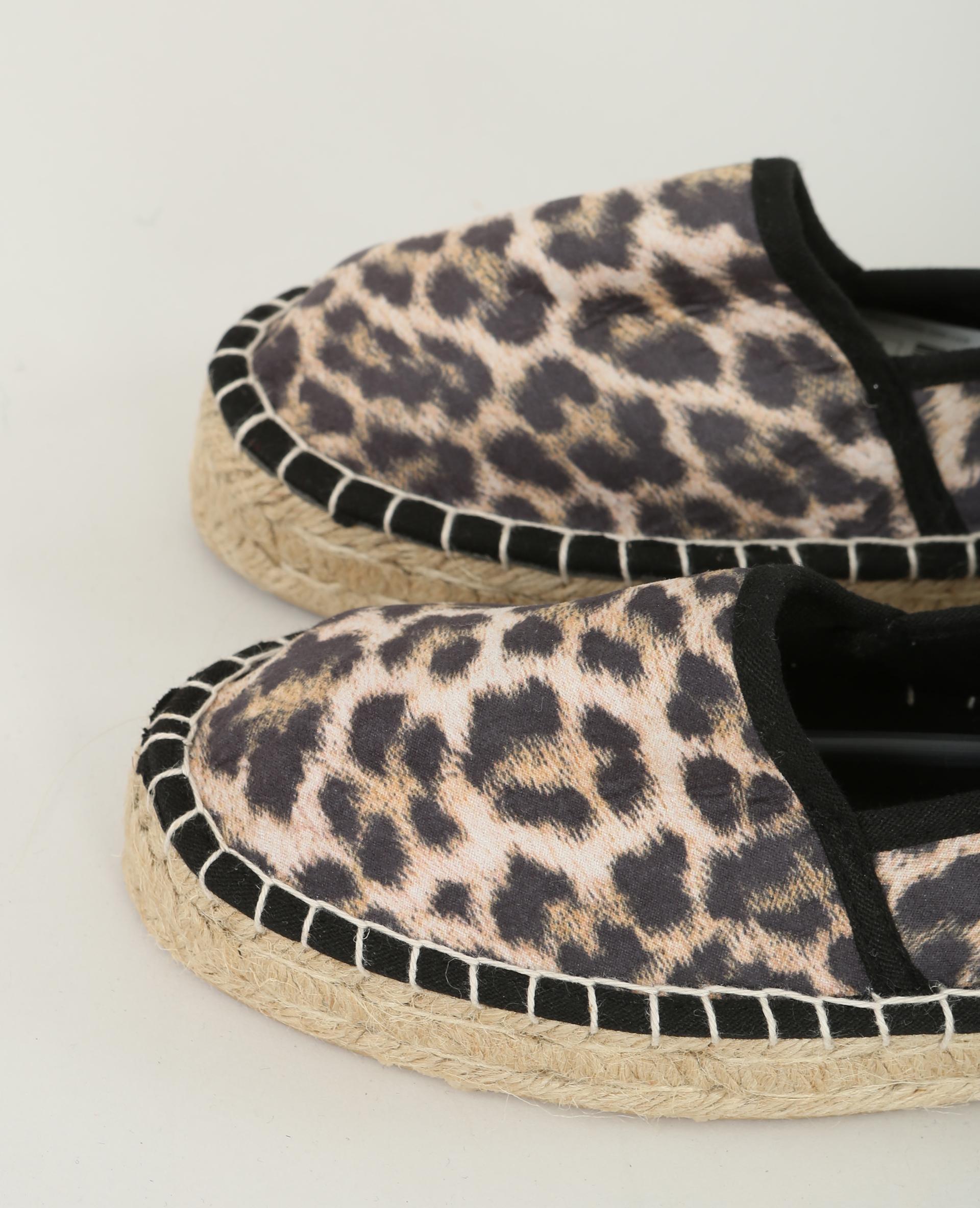 quality design 8519e 497e7 espadrillas leopardate