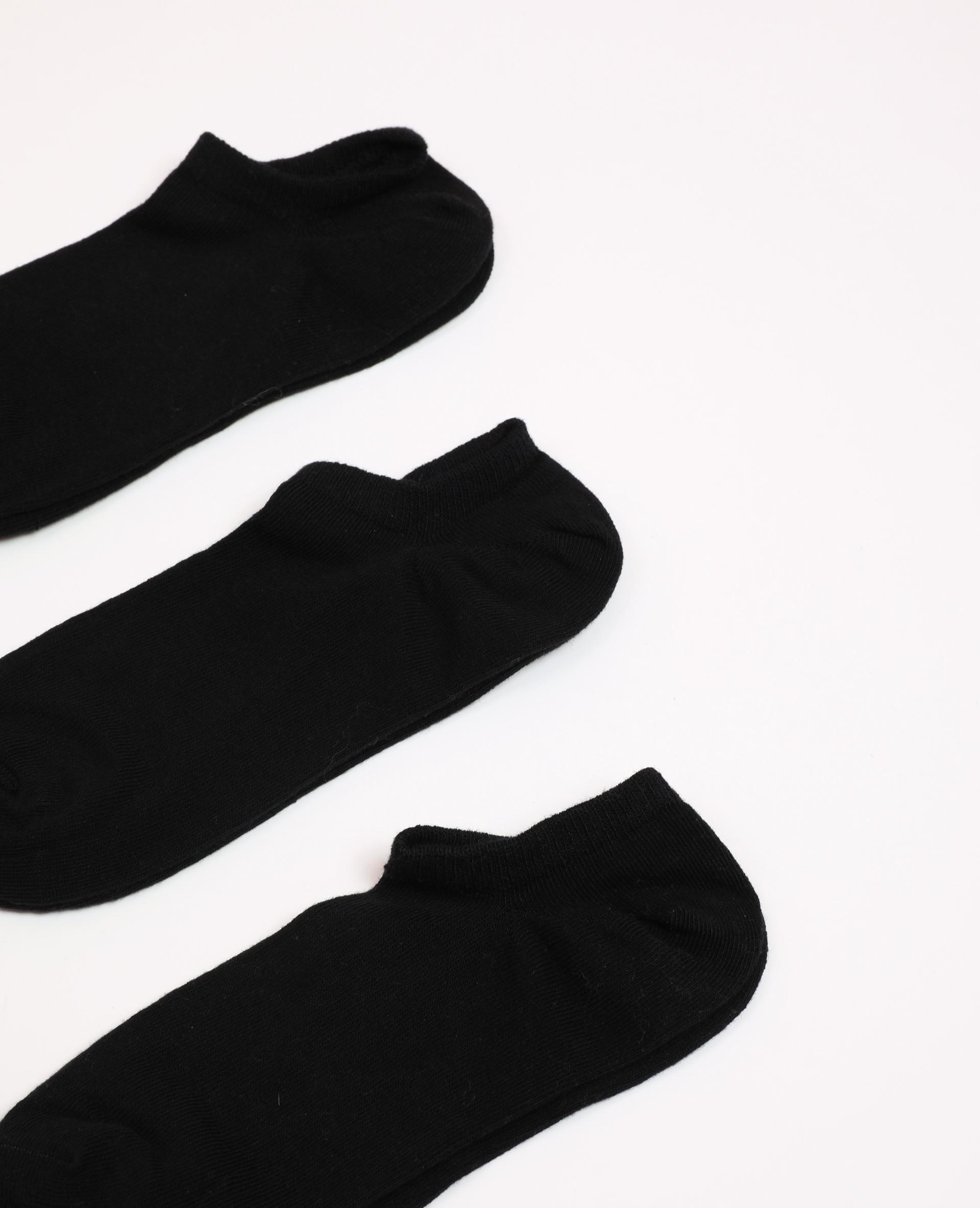 Lotto di calzini bassi nero - Pimkie