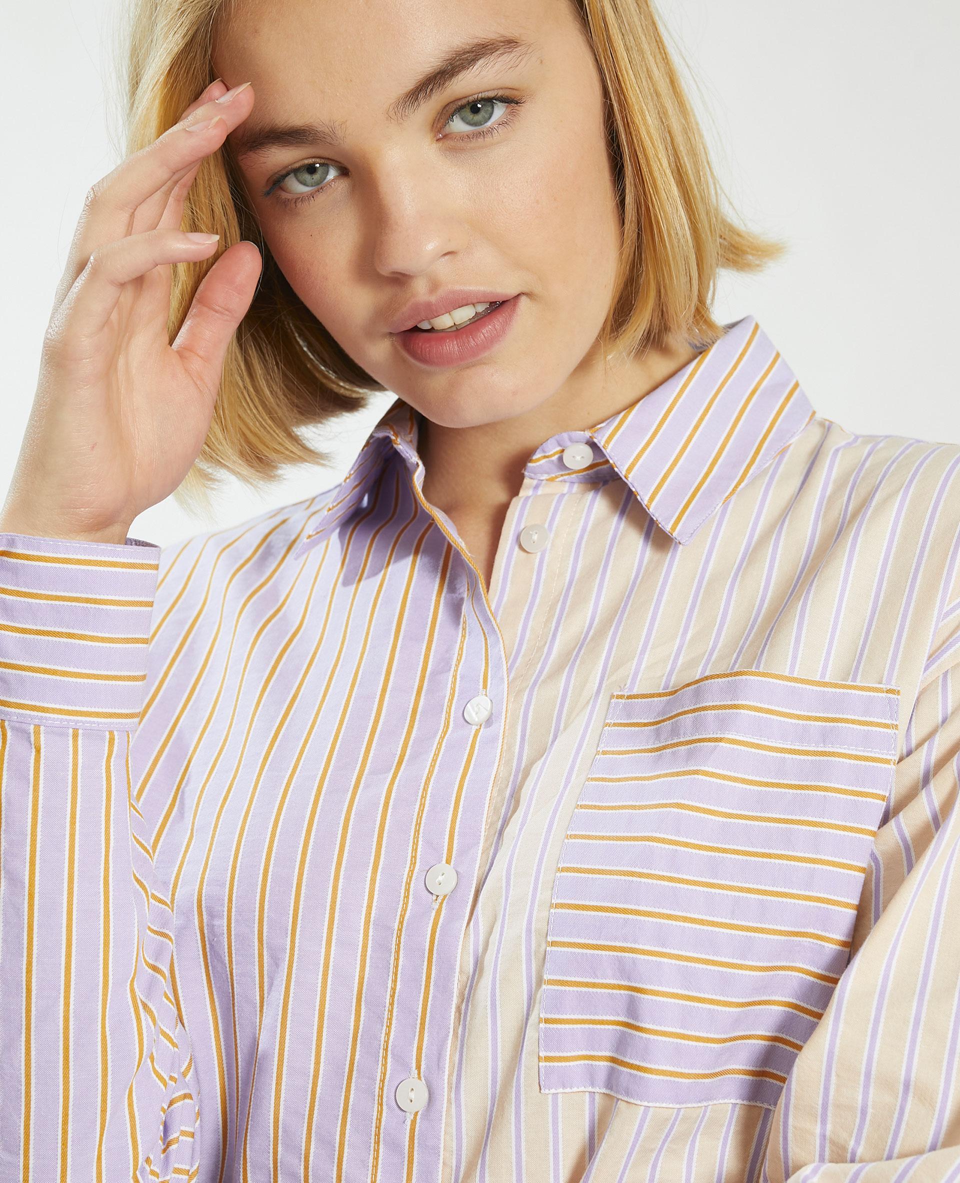 Camicia a righe viola - Pimkie