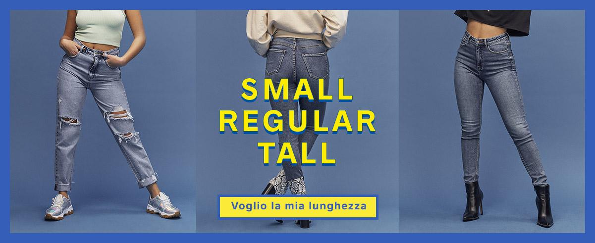 SMALL REGULAR TALL - voglio la mia lunghezza